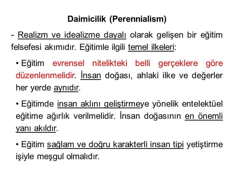 Daimicilik (Perennialism)
