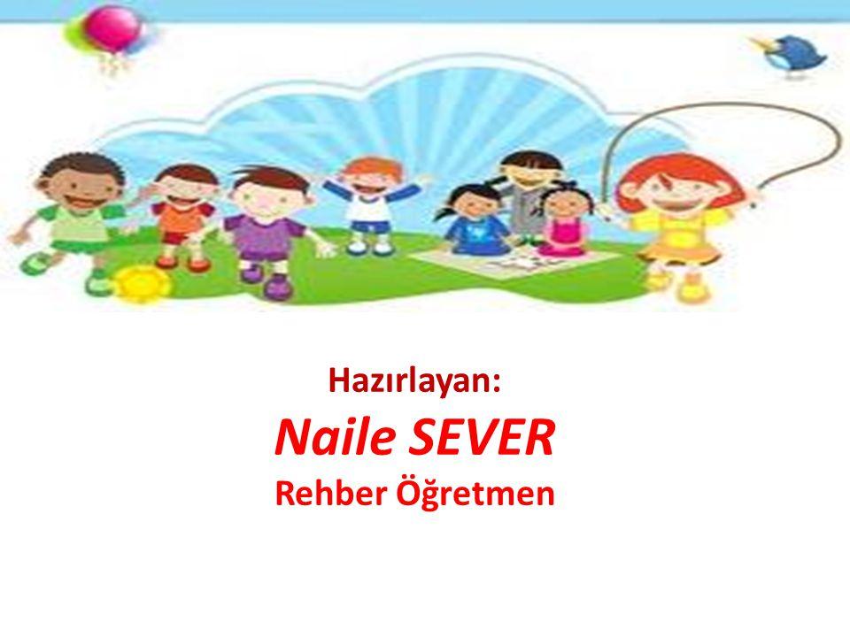 Hazırlayan: Naile SEVER Rehber Öğretmen