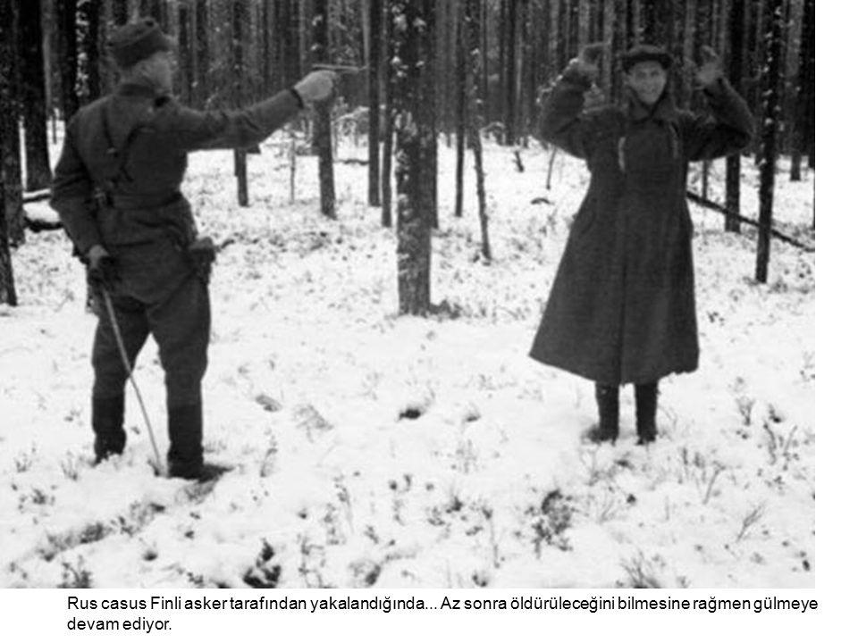 Rus casus Finli asker tarafından yakalandığında