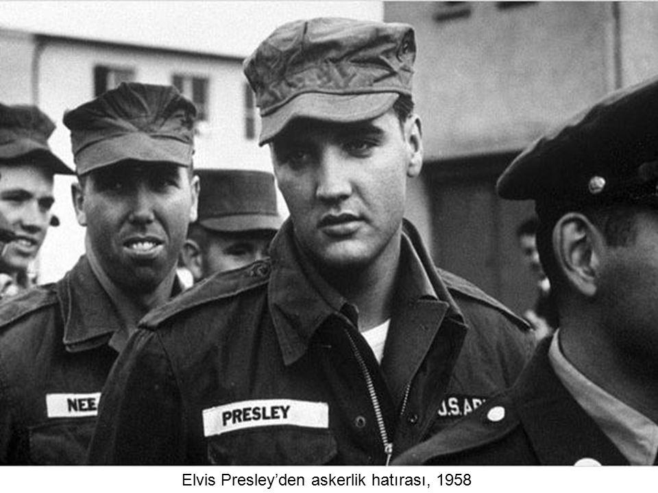 Elvis Presley'den askerlik hatırası, 1958