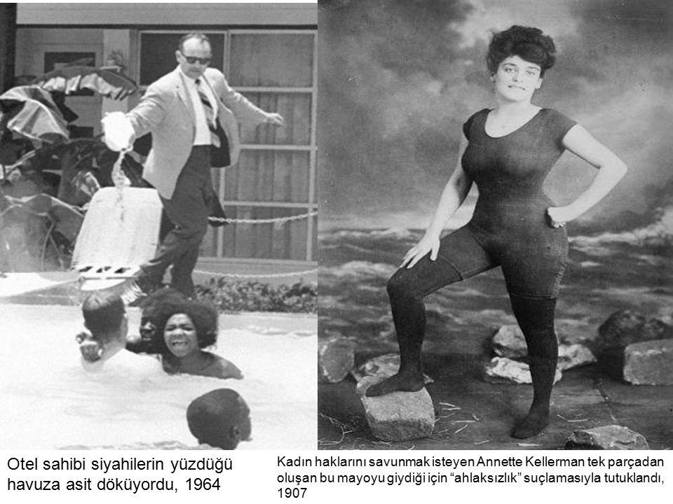 Otel sahibi siyahilerin yüzdüğü havuza asit döküyordu, 1964