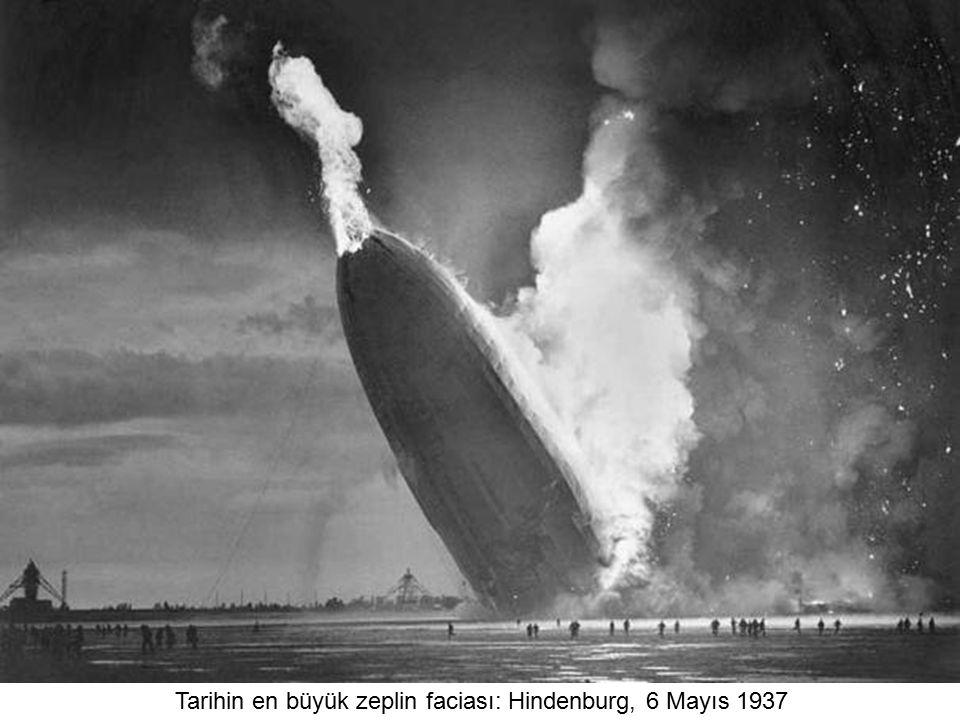 Tarihin en büyük zeplin faciası: Hindenburg, 6 Mayıs 1937