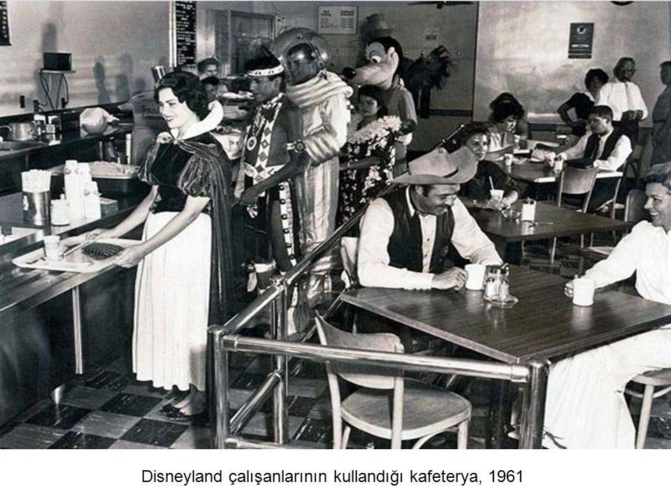 Disneyland çalışanlarının kullandığı kafeterya, 1961
