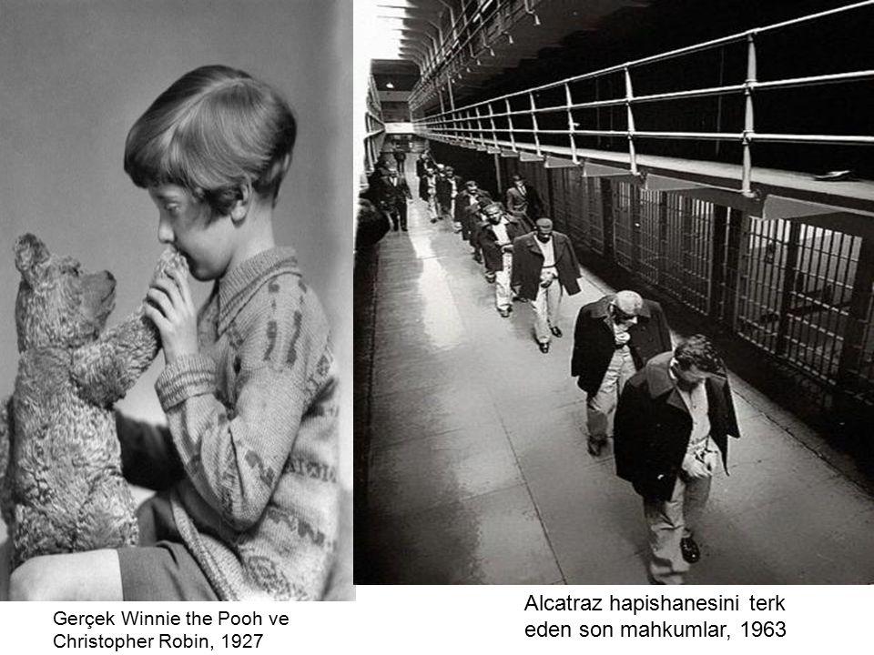 Alcatraz hapishanesini terk eden son mahkumlar, 1963