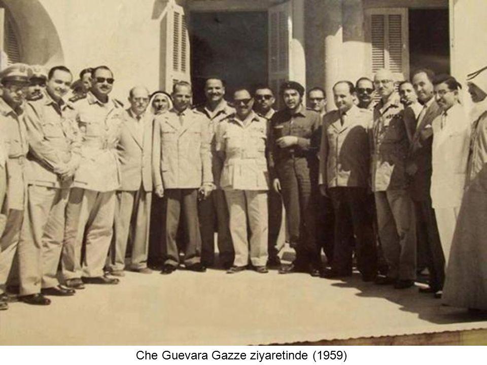 Che Guevara Gazze ziyaretinde (1959)