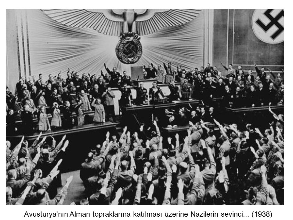 Avusturya nın Alman topraklarına katılması üzerine Nazilerin sevinci