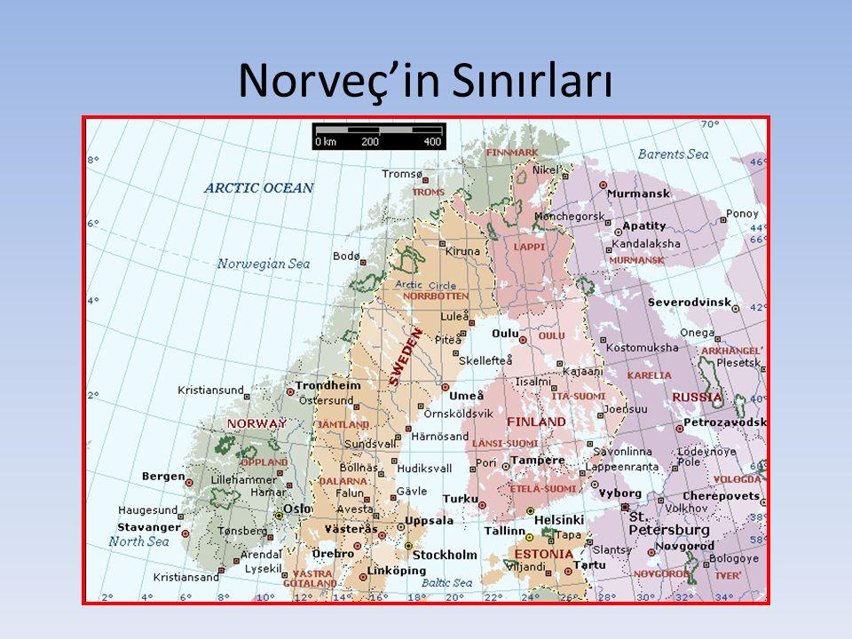 Norveç'in Sınırları