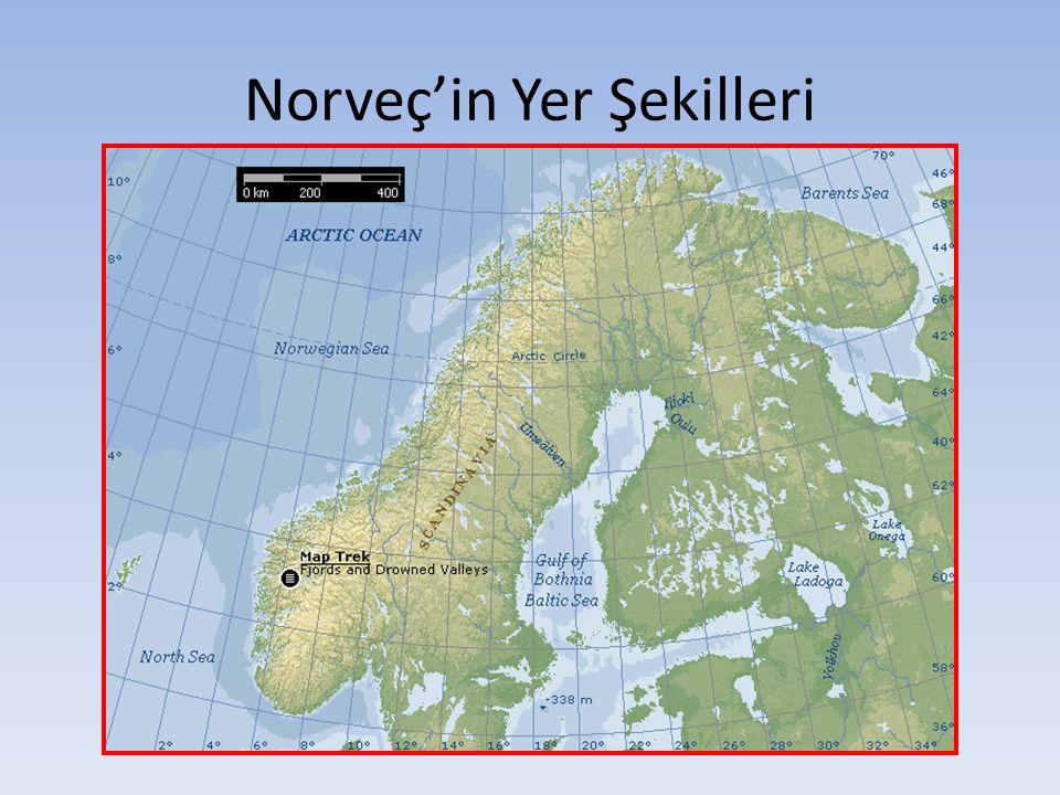 Norveç'in Yer Şekilleri