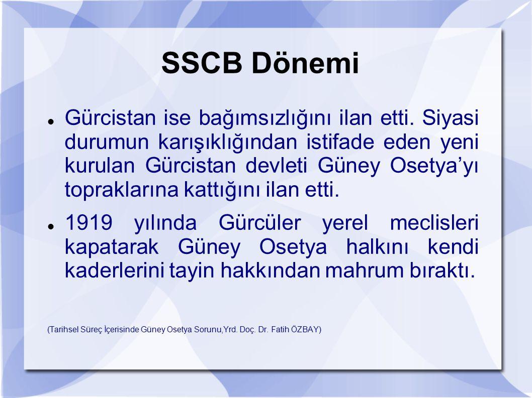 SSCB Dönemi