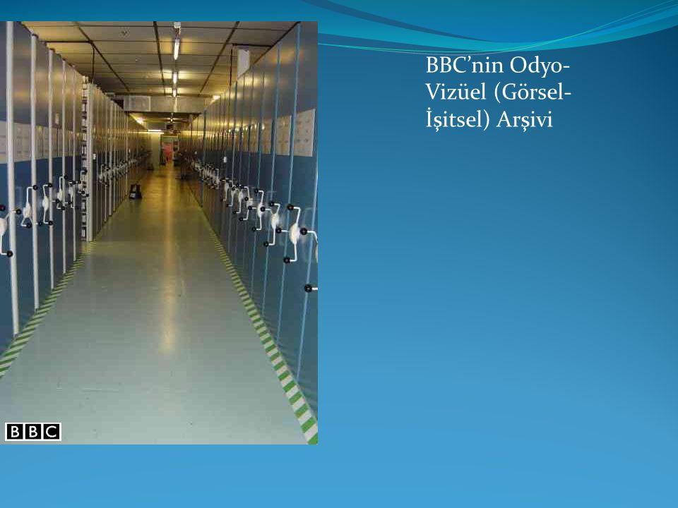 BBC'nin Odyo-Vizüel (Görsel-İşitsel) Arşivi