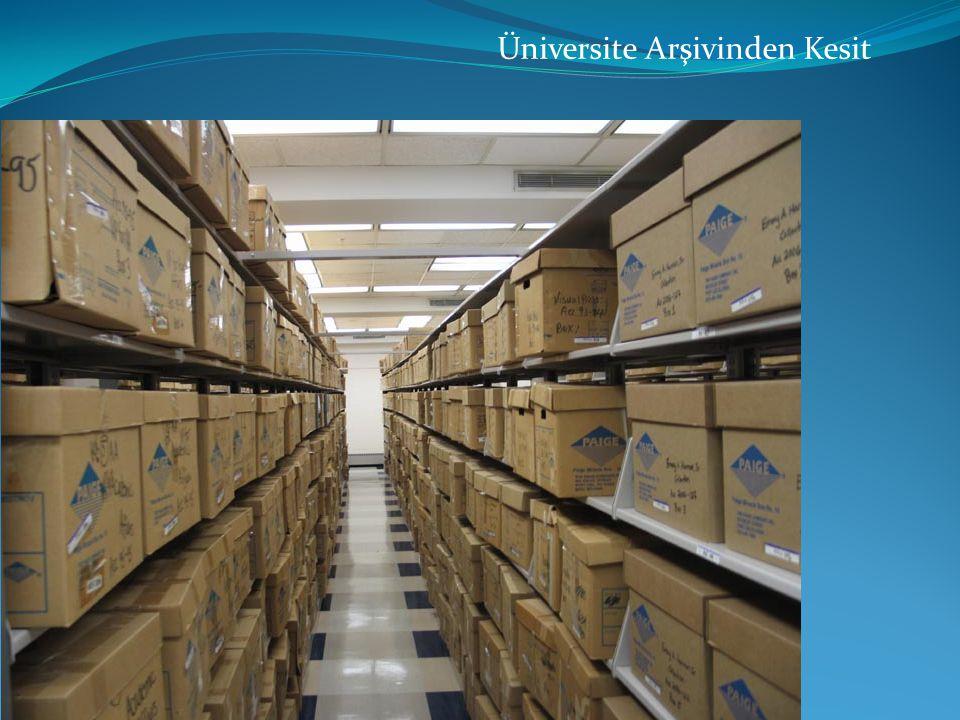 Üniversite Arşivinden Kesit