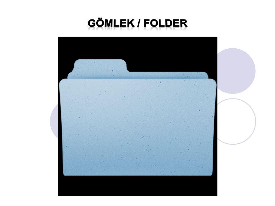 Gömlek / Folder