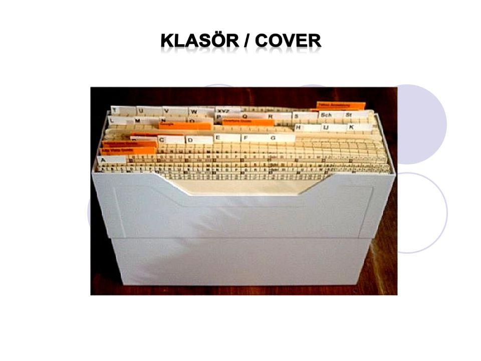 Klasör / cover