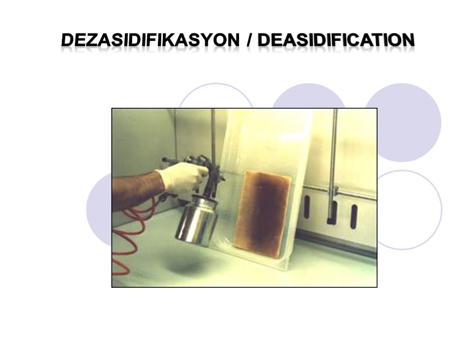 Dezasidifikasyon / deasIDIFICATION