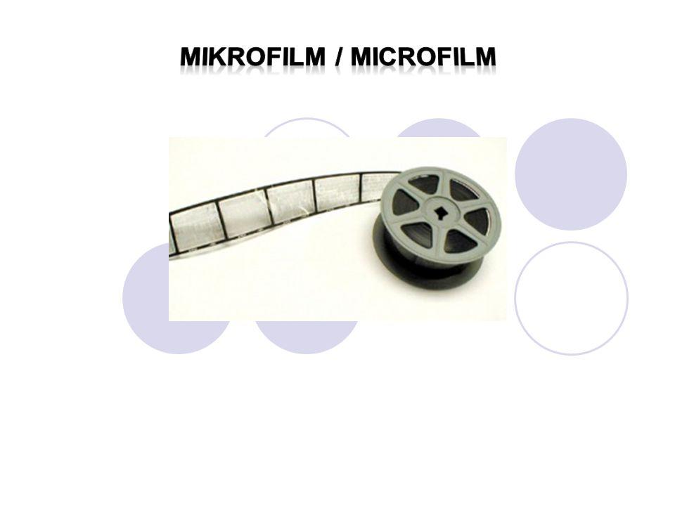 Mikrofilm / microfilm
