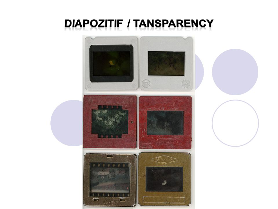 Diapozitif / tansparency