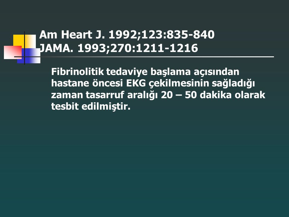 Am Heart J. 1992;123:835-840 JAMA. 1993;270:1211-1216