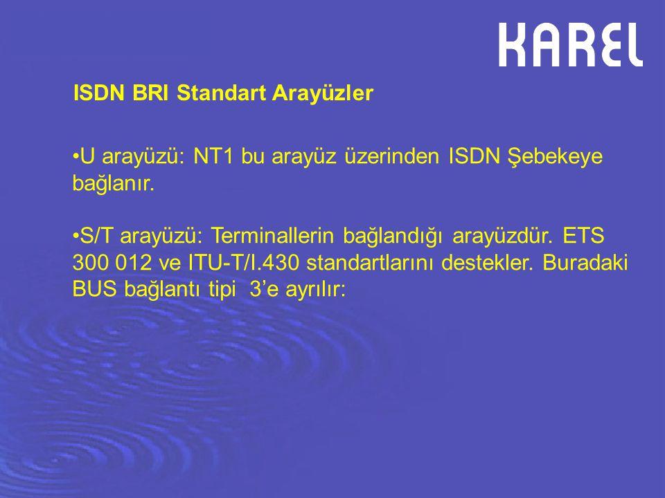 ISDN BRI Standart Arayüzler