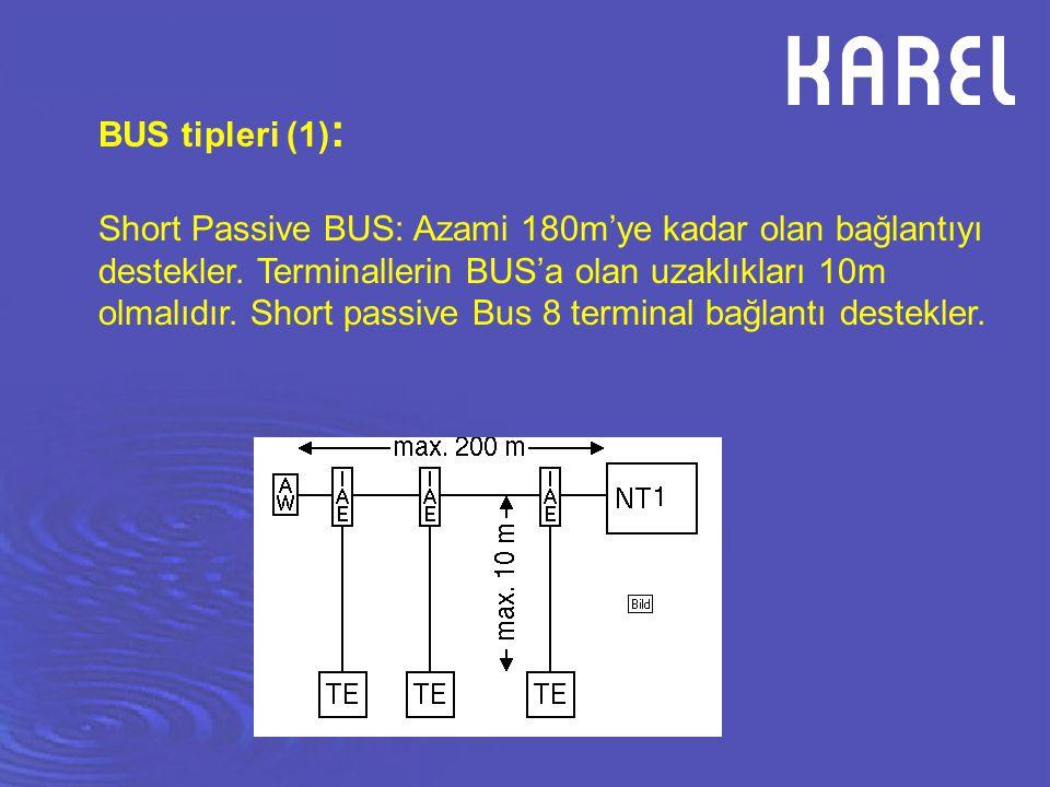 BUS tipleri (1):