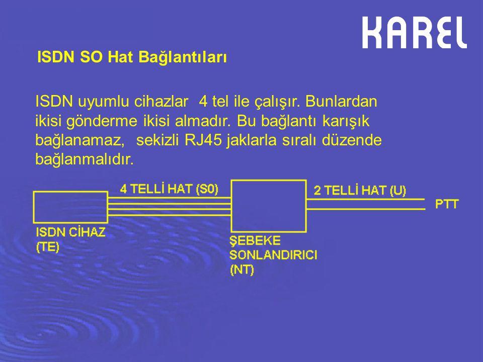 ISDN SO Hat Bağlantıları