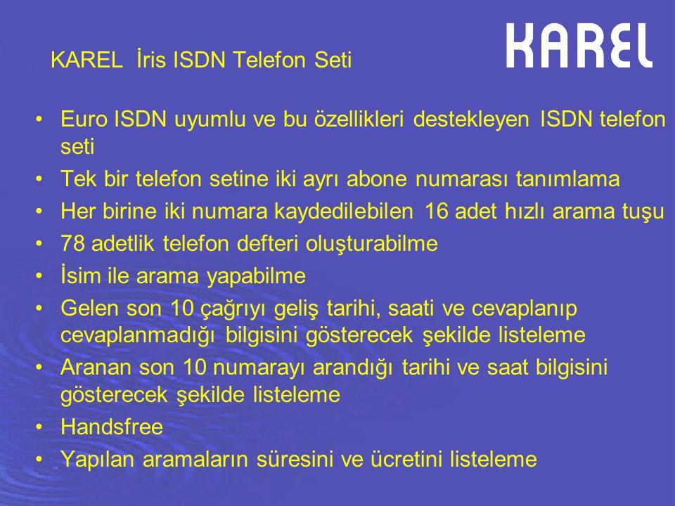 KAREL İris ISDN Telefon Seti
