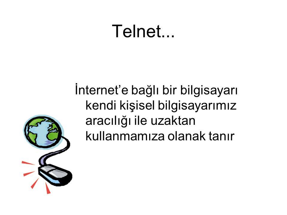 Telnet...