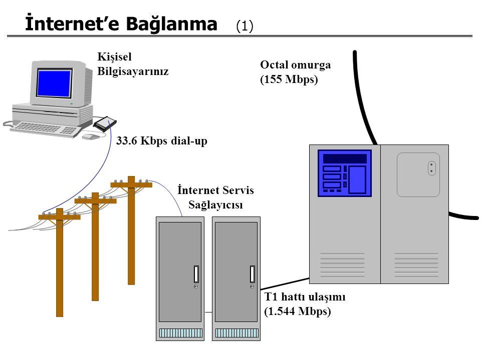 İnternet'e Bağlanma (1)