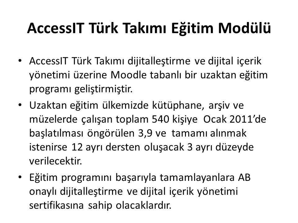 AccessIT Türk Takımı Eğitim Modülü