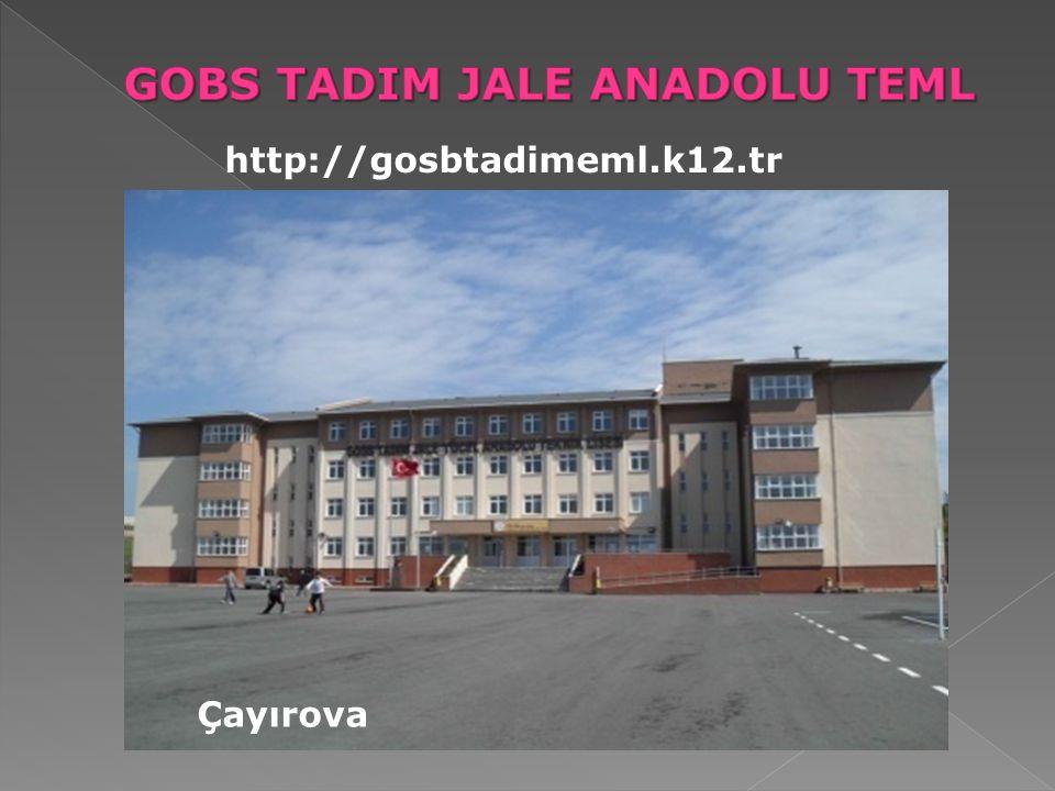 GOBS TADIM JALE ANADOLU TEML