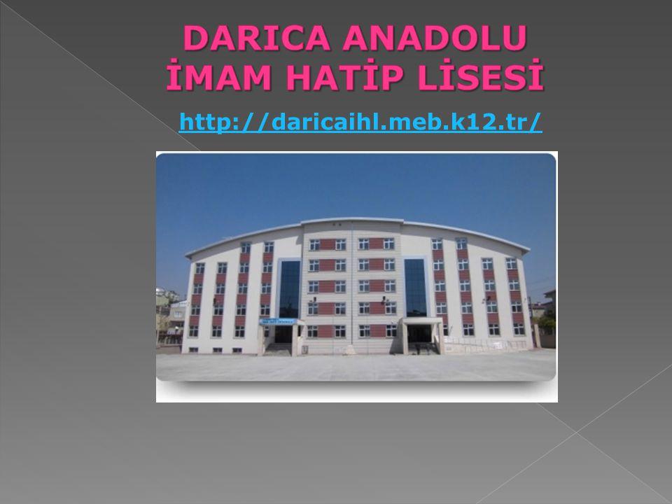 DARICA ANADOLU İMAM HATİP LİSESİ