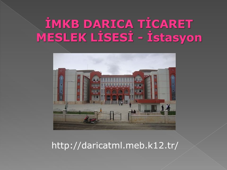 İMKB DARICA TİCARET MESLEK LİSESİ - İstasyon