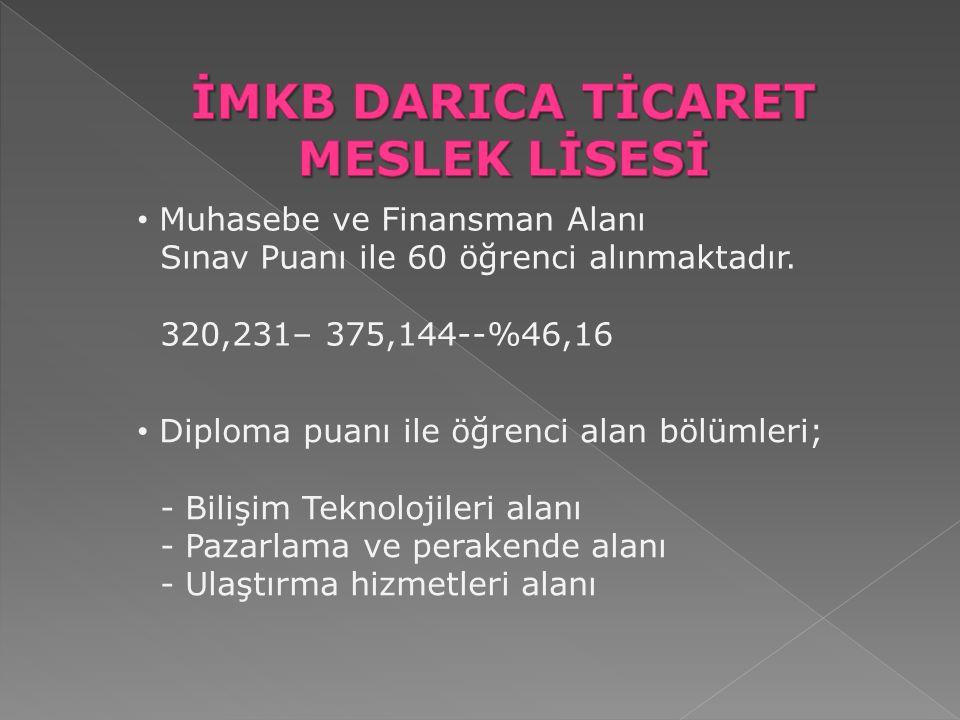 İMKB DARICA TİCARET MESLEK LİSESİ