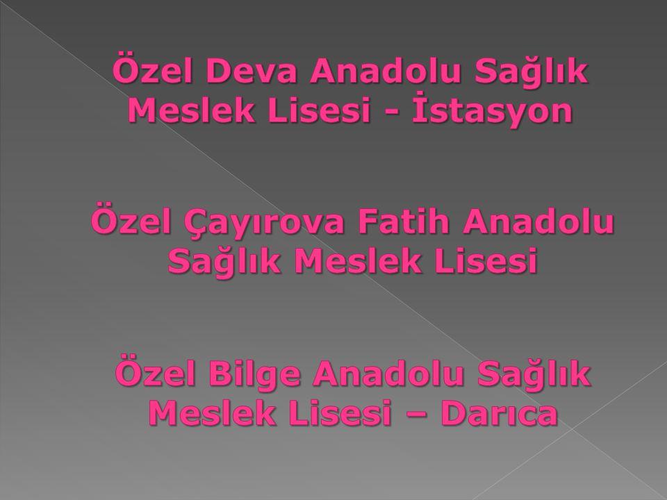 Özel Deva Anadolu Sağlık Meslek Lisesi - İstasyon