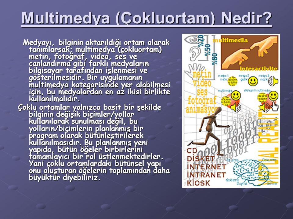 Multimedya (Çokluortam) Nedir