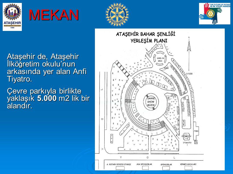 MEKAN Ataşehir de, Ataşehir İlköğretim okulu'nun arkasında yer alan Anfi Tiyatro.
