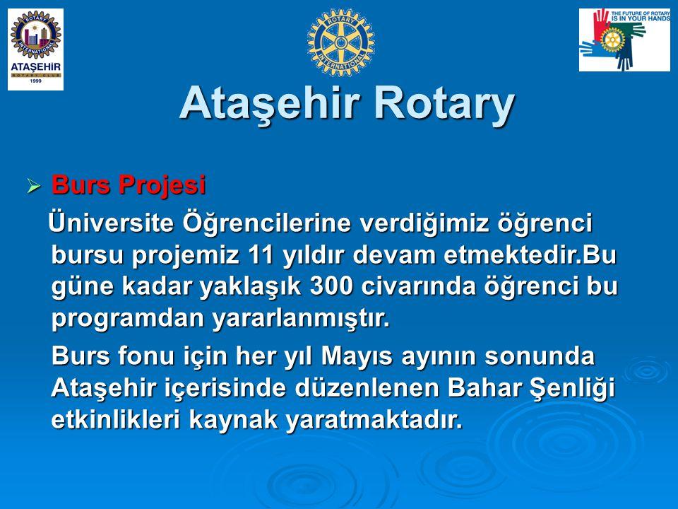 Ataşehir Rotary Burs Projesi
