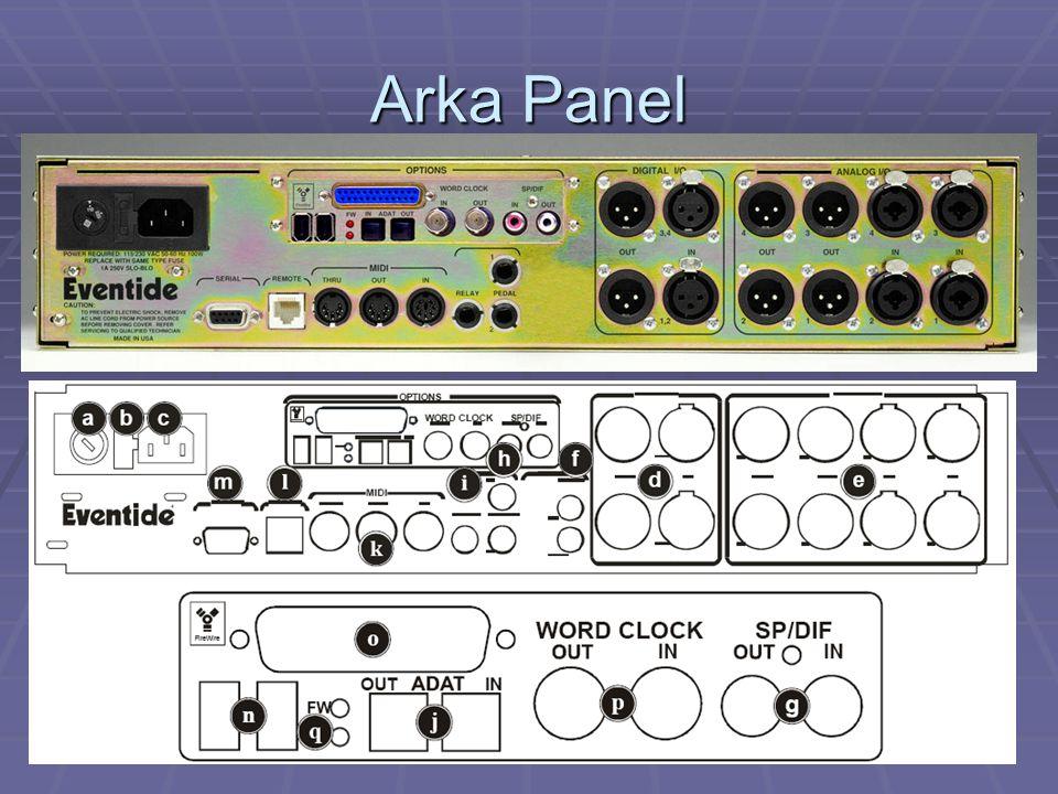 Arka Panel