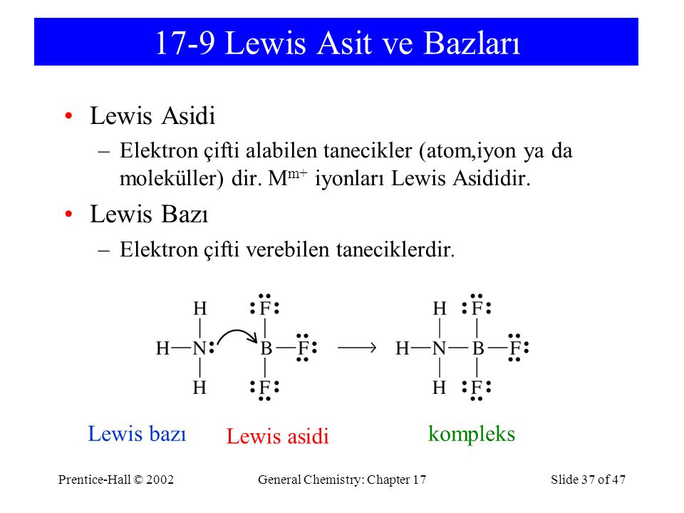 General Chemistry: Chapter 17