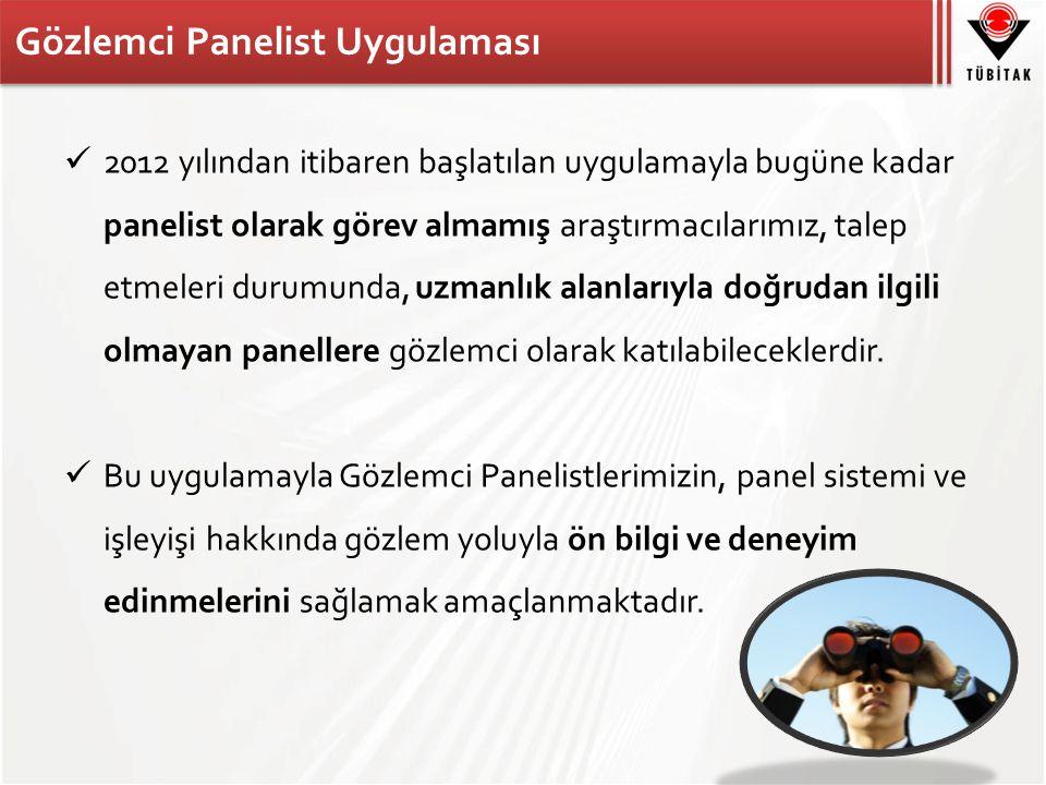 Gözlemci Panelist Uygulaması