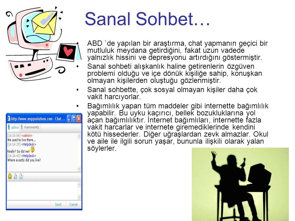 Sanal Sohbet…