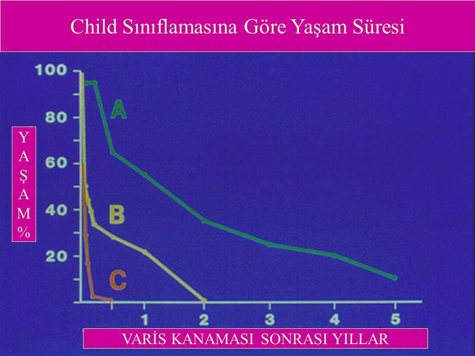 Child Sınıflamasına Göre Yaşam Süresi