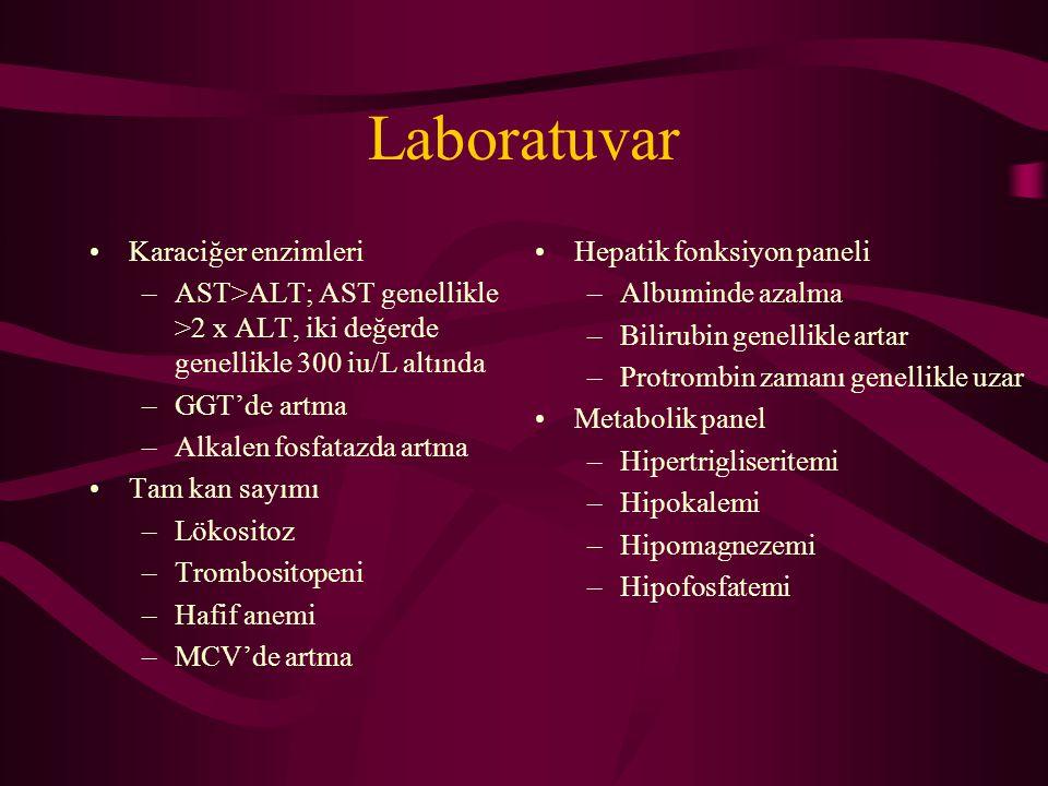 Laboratuvar Karaciğer enzimleri