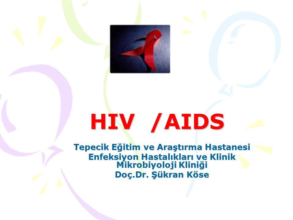 HIV /AIDS Tepecik Eğitim ve Araştırma Hastanesi