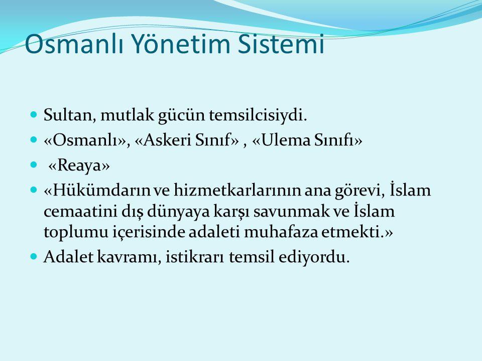 Osmanlı Yönetim Sistemi