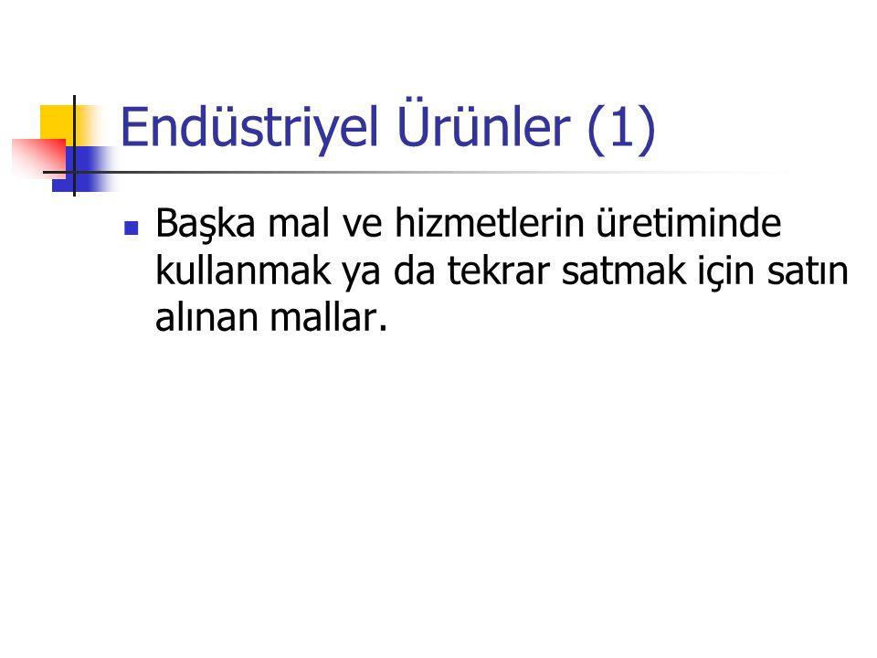 Endüstriyel Ürünler (1)