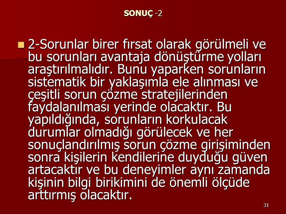 SONUÇ -2