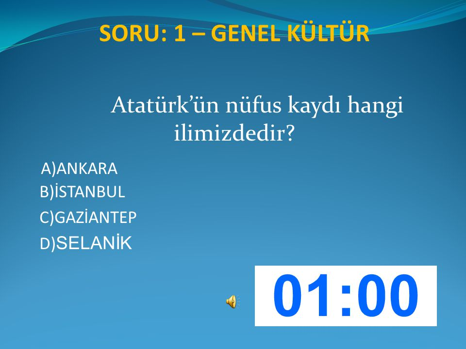 Atatürk'ün nüfus kaydı hangi ilimizdedir