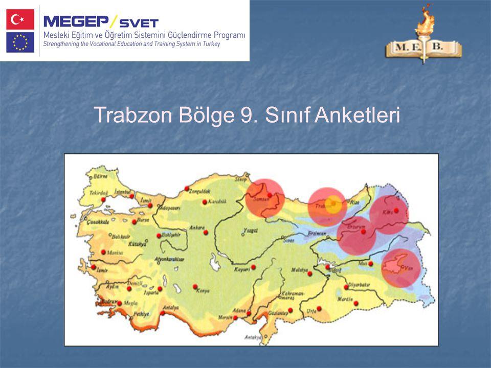 Trabzon Bölge 9. Sınıf Anketleri