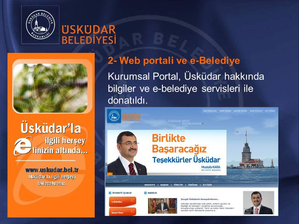 2- Web portali ve e-Belediye