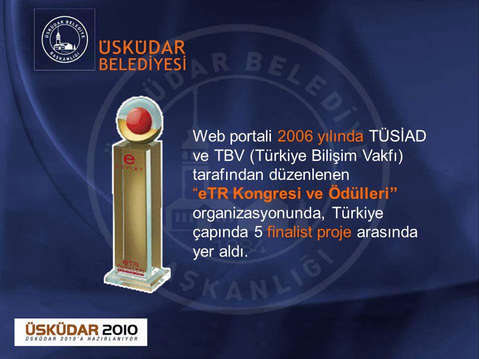 Web portali 2006 yılında TÜSİAD ve TBV (Türkiye Bilişim Vakfı) tarafından düzenlenen